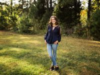high school senior, north carolina