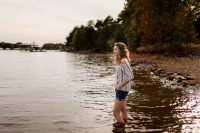 senior photographer, lake norman, nc
