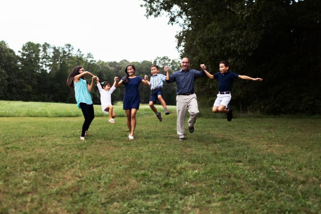 Family photography, Davidson, NC